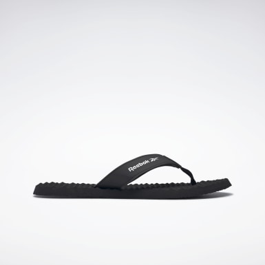 Swimming Black Reebok Misces Slides
