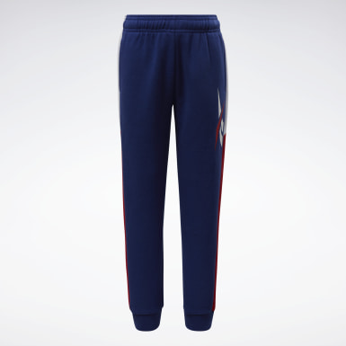Boys Fitness & Training Red Jogger Pants