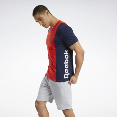 Mænd Fitness & Training Training Essentials Linear Logo Tee