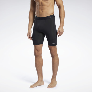 Männer Trail Running Workout Ready Compression Briefs Schwarz