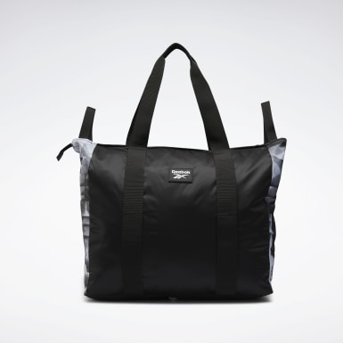 Fitness & Training Tech Style Graphic Tote Schwarz