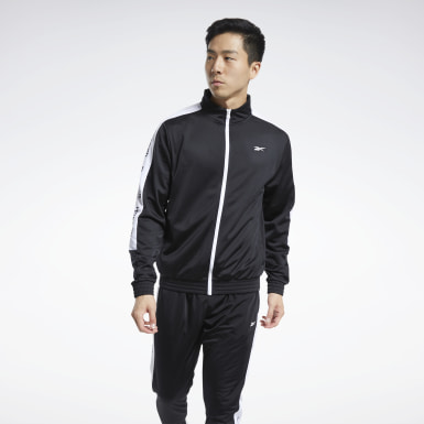 Men Fitness & Training Black Training Essentials Track Top