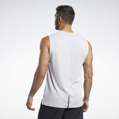 Men Yoga ACTIVCHILL+COTTON Sleeveless Tee