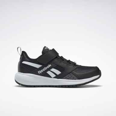 Boys Running Black Reebok Road Supreme 2 Alt Shoes