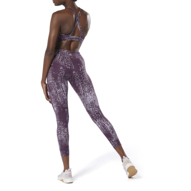 Women Training Purple Lux Tights