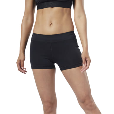 Shorts Workout Ready Hot Negro Mujer Fitness & Training
