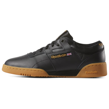 Men Classics Black Workout Low Men's Shoes