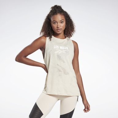 LES MILLS® Burnout Tank Top
