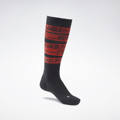 Training Black CrossFit® Engineered Crew Socks