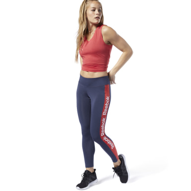 Tights Training Essentials Linear Logo