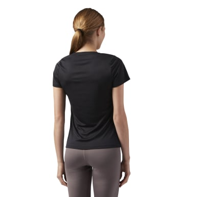 Remera de running Windsprint Negro Mujer Running
