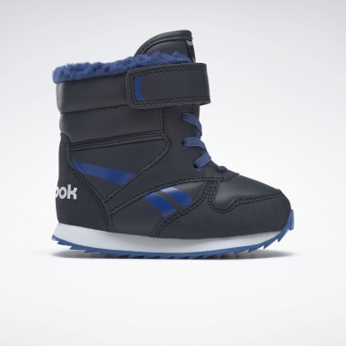 Infants Classics Blue Reebok Classic Jogger Snow Shoes