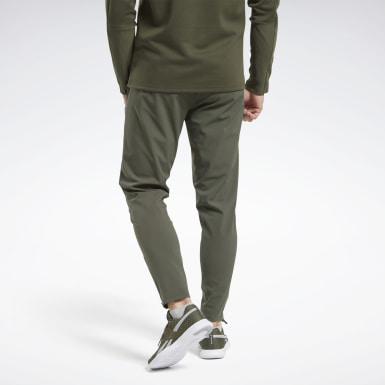 Men Hiking Green Thermowarm Deltapeak Joggers