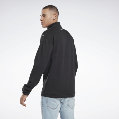Felpa 1/2 Zip Cover-Up