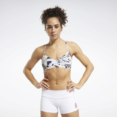 Women Cross Training Reebok CrossFit® Low-Impact Micro Sports Bra