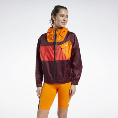 Women Fitness & Training Burgundy MYT Jacket