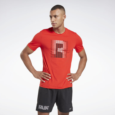 Men Running Run ACTIVCHILL Graphic Tee