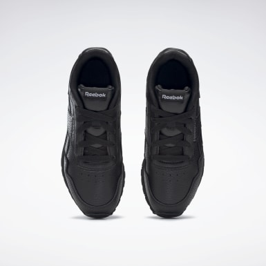 Boys Classics Black Reebok Royal Glide