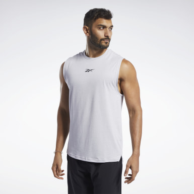 Heren Fitness & Training ACTIVCHILL+COTTON Mouwloos T-shirt
