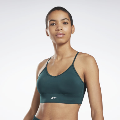 Women Training Green Workout Ready Sports Bra