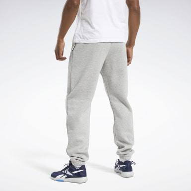 Men Fitness & Training Grey Training Essentials Cuffed Joggers