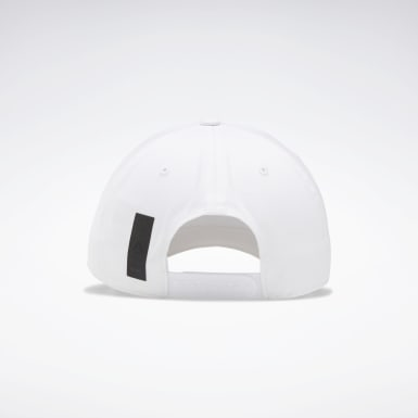 Cappellino Active Enhanced Baseball Bianco Running