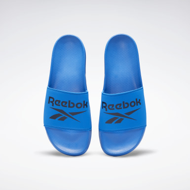 Men Swimming Blue Reebok Fulgere Men's Slide