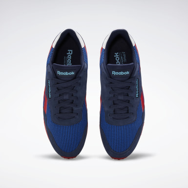 Men Classics Blue Reebok Royal Ultra Shoes