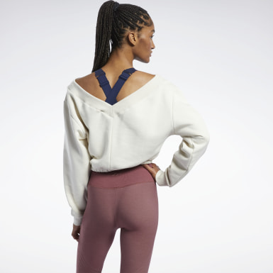 Women Studio White Studio Restorative Sweatshirt