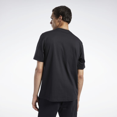 Men Classics Black Classics Linear Tee