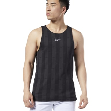 Men Classics Black Classics Vector Tank Top
