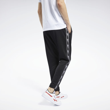 Men Classics Black Classics Vector Tape Joggers