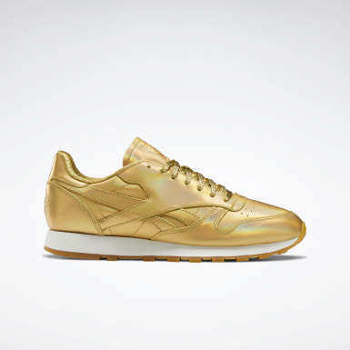 Classics Gold Classic Leather Shoes