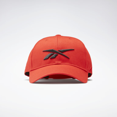 Gorra Active Enhanced Baseball Rojo Fitness & Training