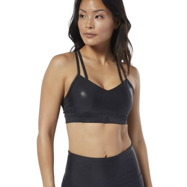 Top Deportivo Hero Strappy Pad Metallic