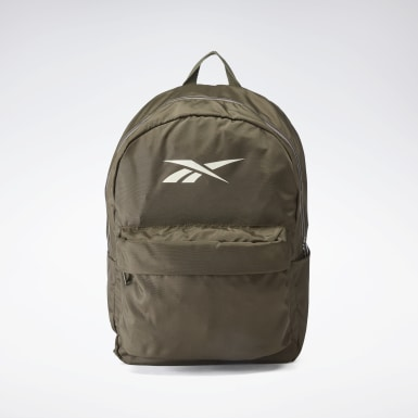 Fitness & Training Green Linear Logo Backpack