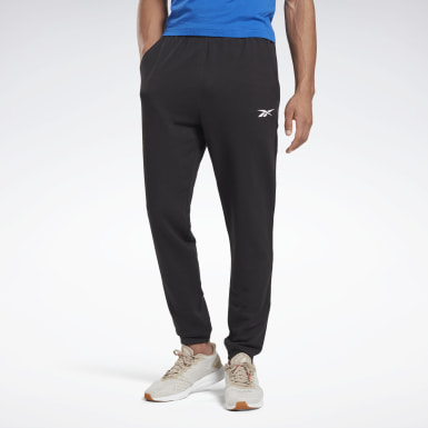Heren Fitness & Training Zwart Training Essentials Linear Logo Joggingbroek