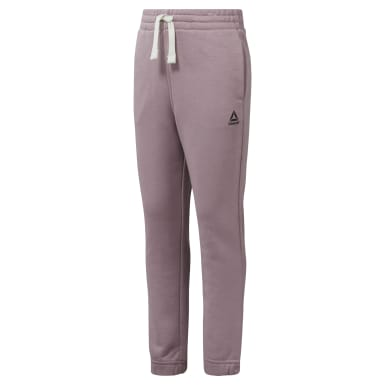 Women Training Purple Girls Elements French Terry Pant