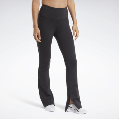 Women Dance Black Reebok Lux Bootcut Tights 2.0