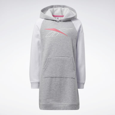 Girls Fitness & Training Reebok Classic Hoodie Dress