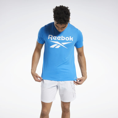 T-shirt Workout Ready Supremium Graphic Blu Uomo HIIT