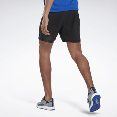 Men Running Black Running Essentials 5 Inch Shorts