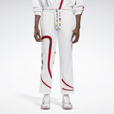 Classics White Reebok by Pyer Moss Vector Pants
