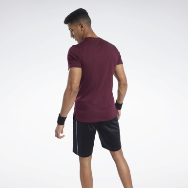MYT SS Graphic Tee Granate Hombre Fitness & Training