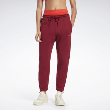 Women Training Burgundy VB Jogger