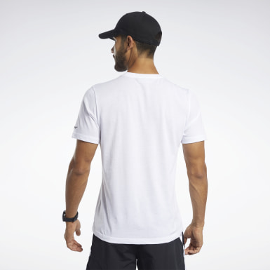 Men Fitness & Training White Meet You There Tee