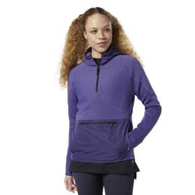 Sweat à capuche Thermowarm Deltapeak Control Violet Femmes Fitness & Training