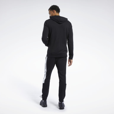 Men Fitness & Training Black Training Essentials Track Suit