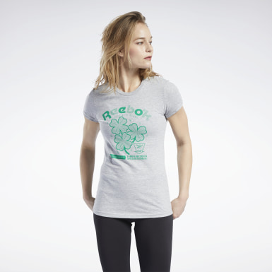 Women Training St. Patrick's Day Shamrock Tee