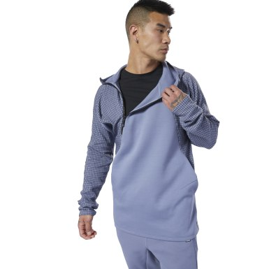 Men Fitness & Training Purple Training Supply Hoodie